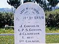 Whatawhata cemetery NZ Wars memorial