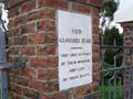 Windsor war memorial gates