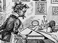 Cartoon against women's suffrage