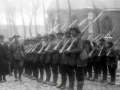 Film: inspecting the troops, 1917
