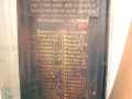 Southland railways roll of honour board