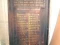 Southland NZ Railways roll of honour board