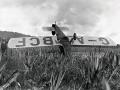 Bumpy landing for Tasman's first solo flyer