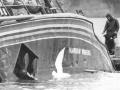 <em>Rainbow Warrior</em> sunk in Auckland