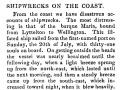 <em>Maria</em> wrecked near Cape Terawhiti