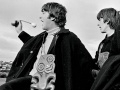 The Beatles land in New Zealand