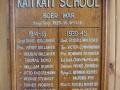 Katikati School roll of honour