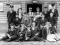 Kingston railway staff and their moustaches