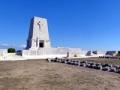 Lone Pine memorial to the missing, panorama