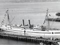 <em>Maheno</em> at Port Chalmers, 1915