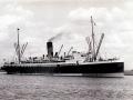 The hospital ship <em>Marama</em> after the war