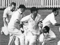 New Zealand's first test cricket victory