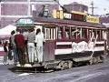 New Zealand's last electric tram trip