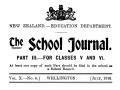 First <em>School Journal</em> published