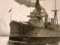 HMS <em>New Zealand</em> fights at Jutland