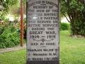 Mōhaka and district war memorial