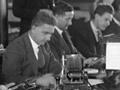 Telegraph services staff at work
