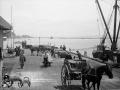 Strike-breakers on Nelson wharf, 1913