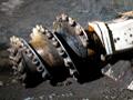 Roadheader machine in Pike River mine