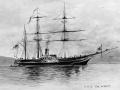 The <em>Acheron</em> arrives to survey New Zealand waters