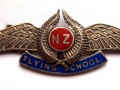 Cap badge for the Walsh Brothers' New Zealand Flyi...