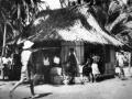 Coastwatching headquarters at Nukufetau, Ellice Islands, 1941