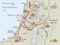 Palestine campaign 1917-18 map