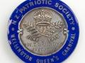 Patriotic society medal