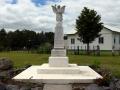 Tau Henare Marae memorial obelisk