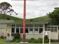 Pukehina Native School flagpole memorial