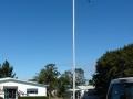 Pukekohe East School memorial flagpole
