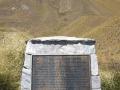 Red deer memorial plaque