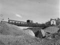 Bailey bridge in Sangro River area