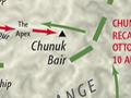 Sari Bair offensive, August 1915 map