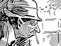 First World War shirker cartoon
