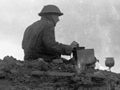 New Zealand signaller at Passchendaele