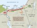 Sinai campaign 1916 map