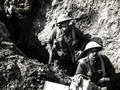 Auckland infantry in trench near Flers