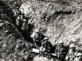 Sound: veteran describes trench warfare