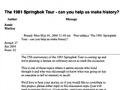 Remembering the 1981 Springbok Tour
