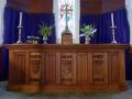 St George's memorial altar, Thames