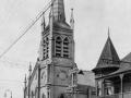 Strikers' sanctuary, St Peter's Church, Wellington