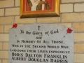 St Paul's Memorial Tablet, Huntly