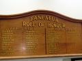 Tāneatua hall roll of honour