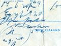 Christmas telegram from Egypt
