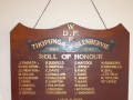 Tikipunga-Glenbervie roll of honour board