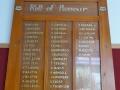 Titoki rolls of honour