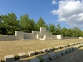 Twelve Tree Copse memorial panorama, Gallipoli
