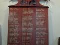 Upper Hutt School roll of honour board