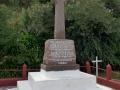 Waiaua marae memorial cross